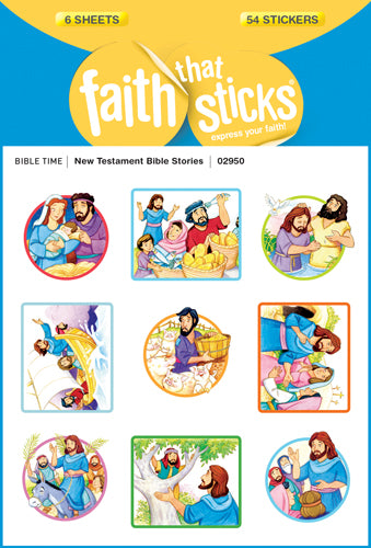 New Testament Bible Stories Stickers