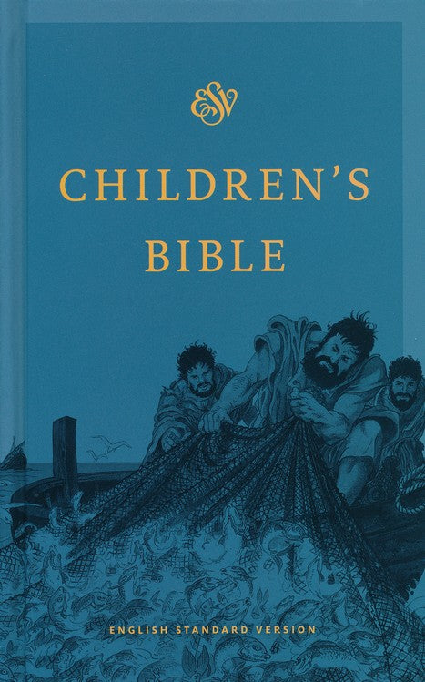ESV Children's Bible Blue Hardback