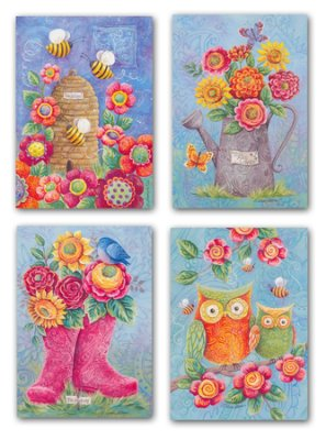Boxed Cards - Owls - Thinking of You