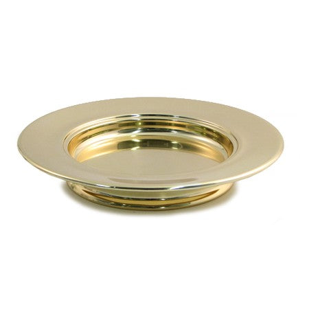 Stackable Bread Plate - Brasstone Aluminum