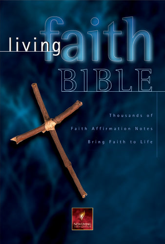Living Faith Bible Black Bonded Leather
