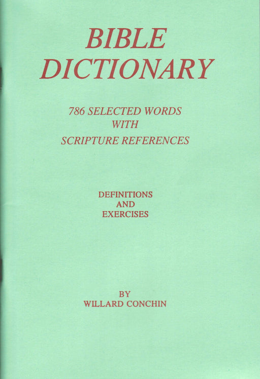 Bible Dictionary