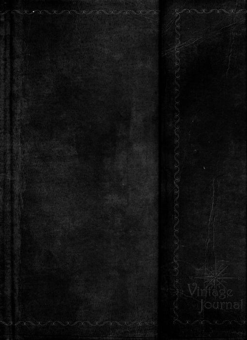 Christian Classic Vintage Journal (Black)
