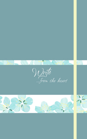 Write . . . from the heart Journal (Turquoise)