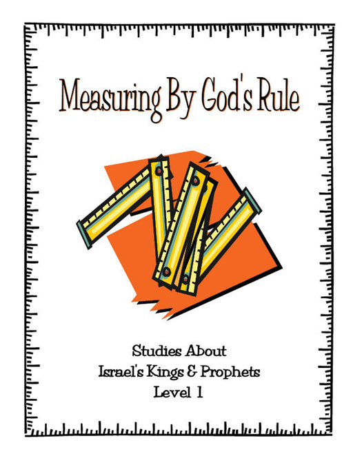 Measuring By God's Rule Level 1