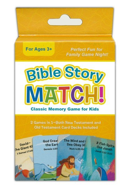 Bible Story Match! Classic Memory Game for Kids