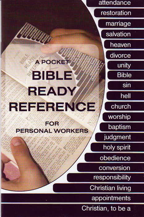 Pocket Bible Ready Reference