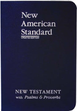 NASB Coat Pocket New Testament with Psalms Proverbs