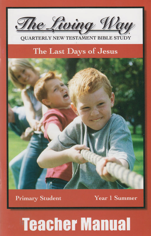 PRIMARY 1-4 MAN - Last Days of Jesus