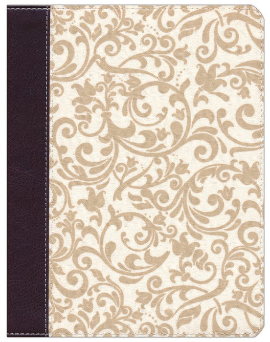 Brown/Cream Linen Flexcover