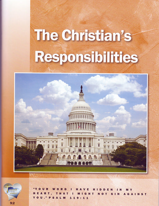 The Christian's Responsibilities (Word in the Heart, 9:2)