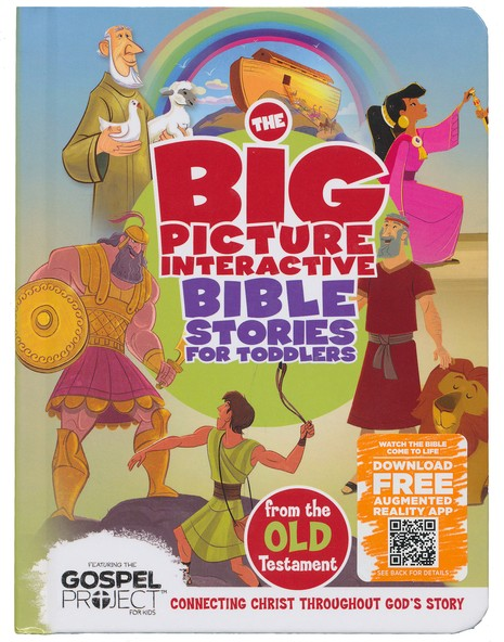 Big Picture Interactive Bible Stories for Toddlers, Old Testament
