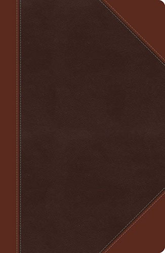 NKJV Large Print UltraSlim Reference Bible Brown LeatherSoft, Indexed