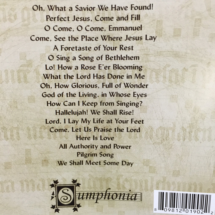 I Was Glad Sumphonia CD