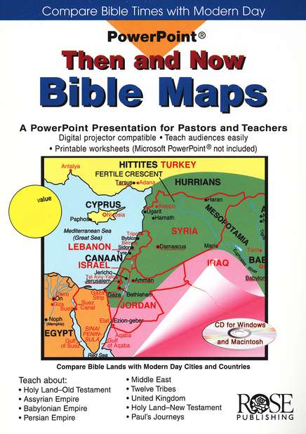 PowerPoint Then and Now Bible Maps