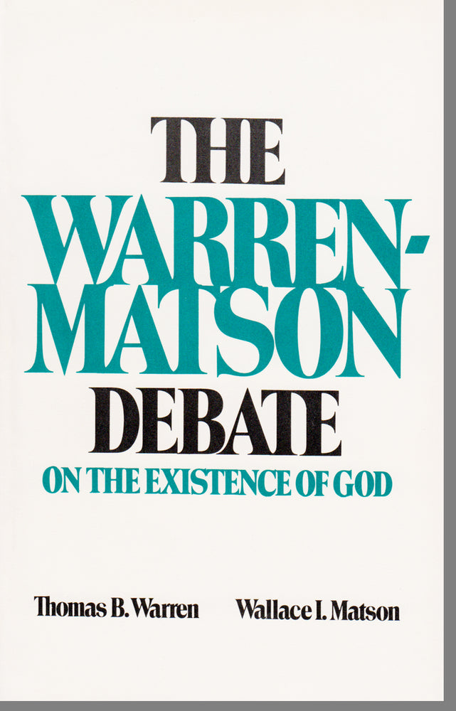 Warren-Matson Debate