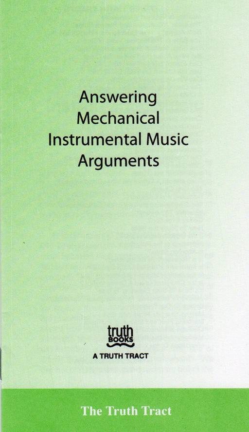 Answering Mechanical Instrumental Music Arguments