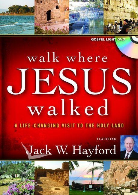 Walk Where Jesus Walked DVD