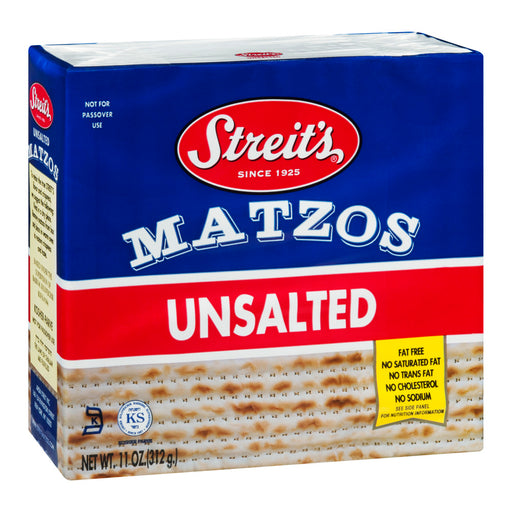 Communion Bread-Unsalted Matzo