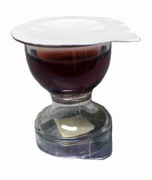 Pre-Filled World Communion Cups