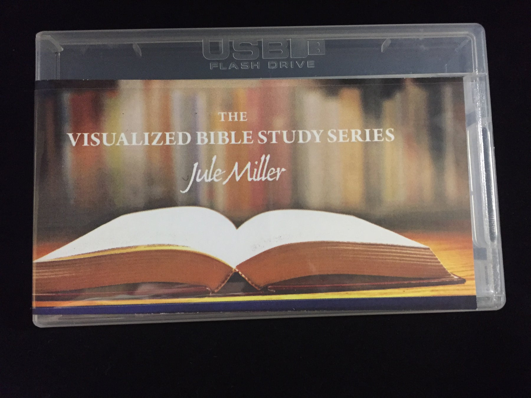 Jule Miller Visualized Bible Study Series DVD - 5 Lessons on 1 USB