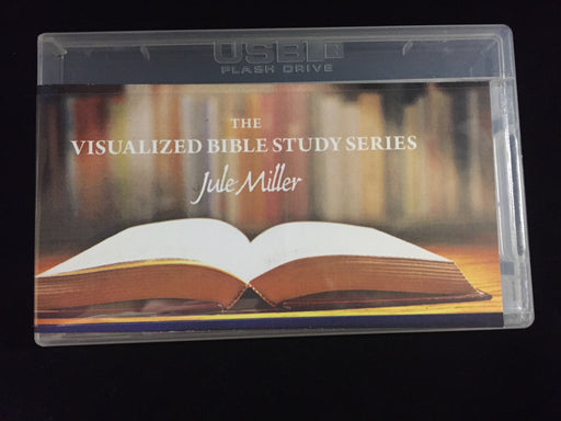 DVD de la Serie de Estudios Bíblicos Visualizados de Jule Miller - 5 Lecciones en 1 USB - Versión en Español(Jule Miller Visualized Bible Study Series DVD - 5 Lessons on 1 USB - Spanish Version)