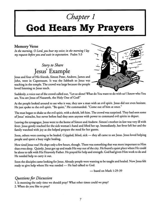 Talking to God Instant Bible Lessons (Ages 5-10)