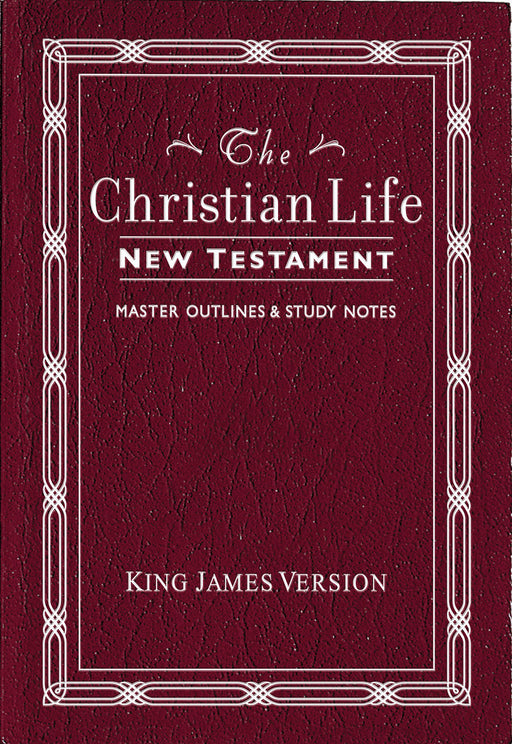 Christian Life New Testament With Master Outlines