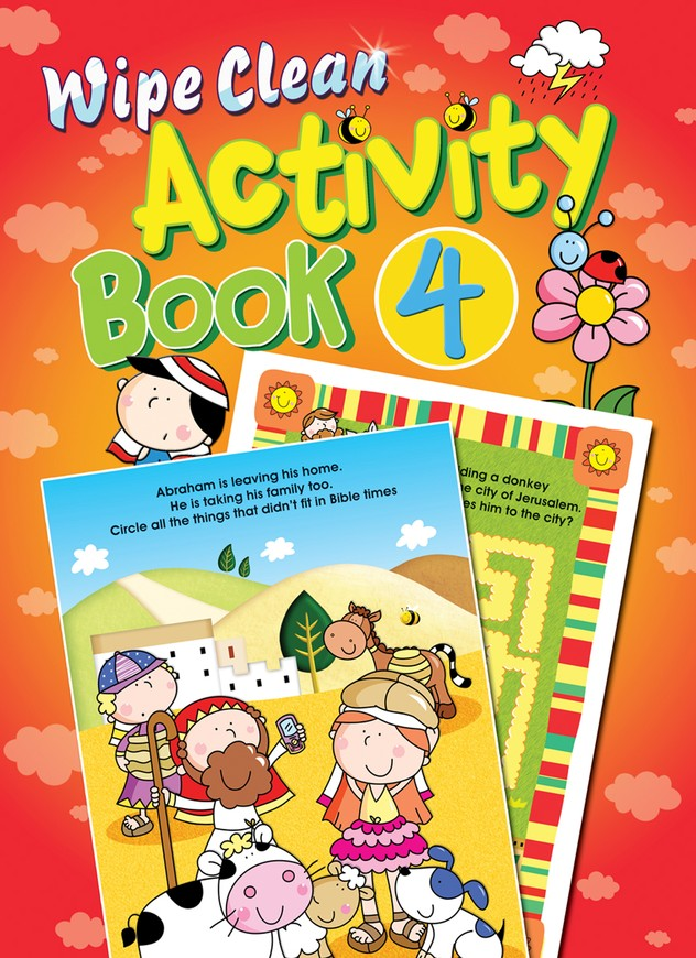 Wipe Clean Activity Book 4