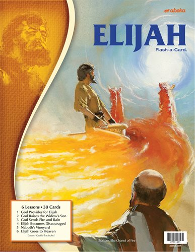 Elijah - Abeka Flash-A-Card