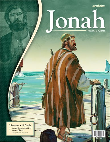 Jonah - Abeka Flash-A-Card