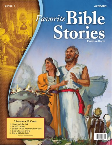 Favorite Bible Stories 1 - A Beka Flash-A-Cards