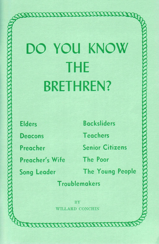 Do You Know the Brethren?