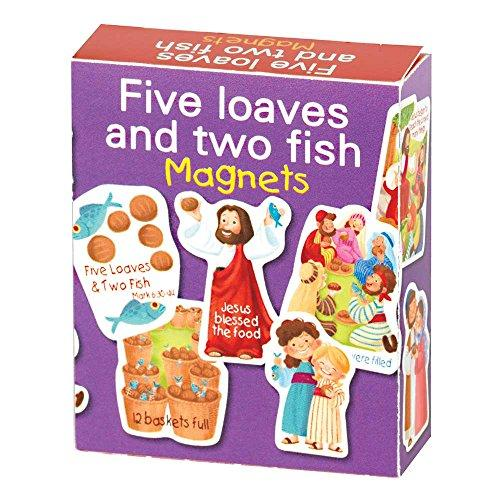 Five Loaves and Two Fish Bible Story Magnets