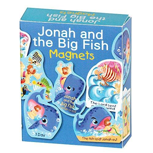 Jonah and the Big Fish Bible Story Magnets
