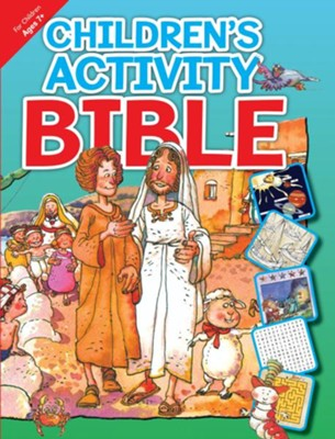 Children's Activity Bible Ages 7 & Up