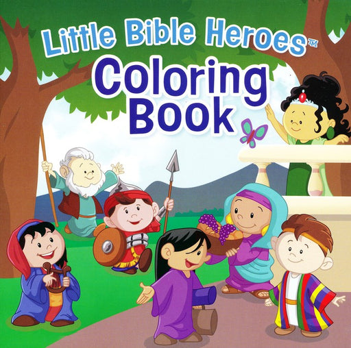 Little Bible Heroes Coloring Book
