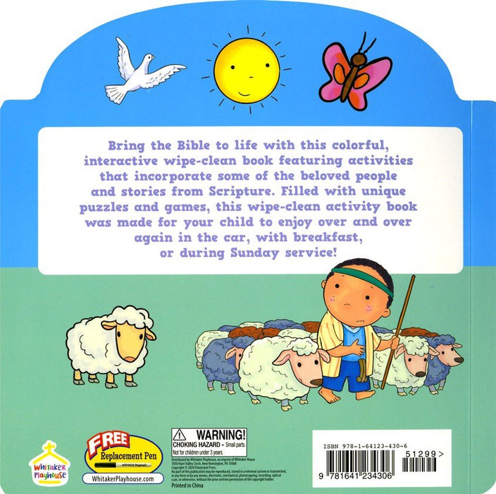 Bible Activities Wipe-Clean Activity Book