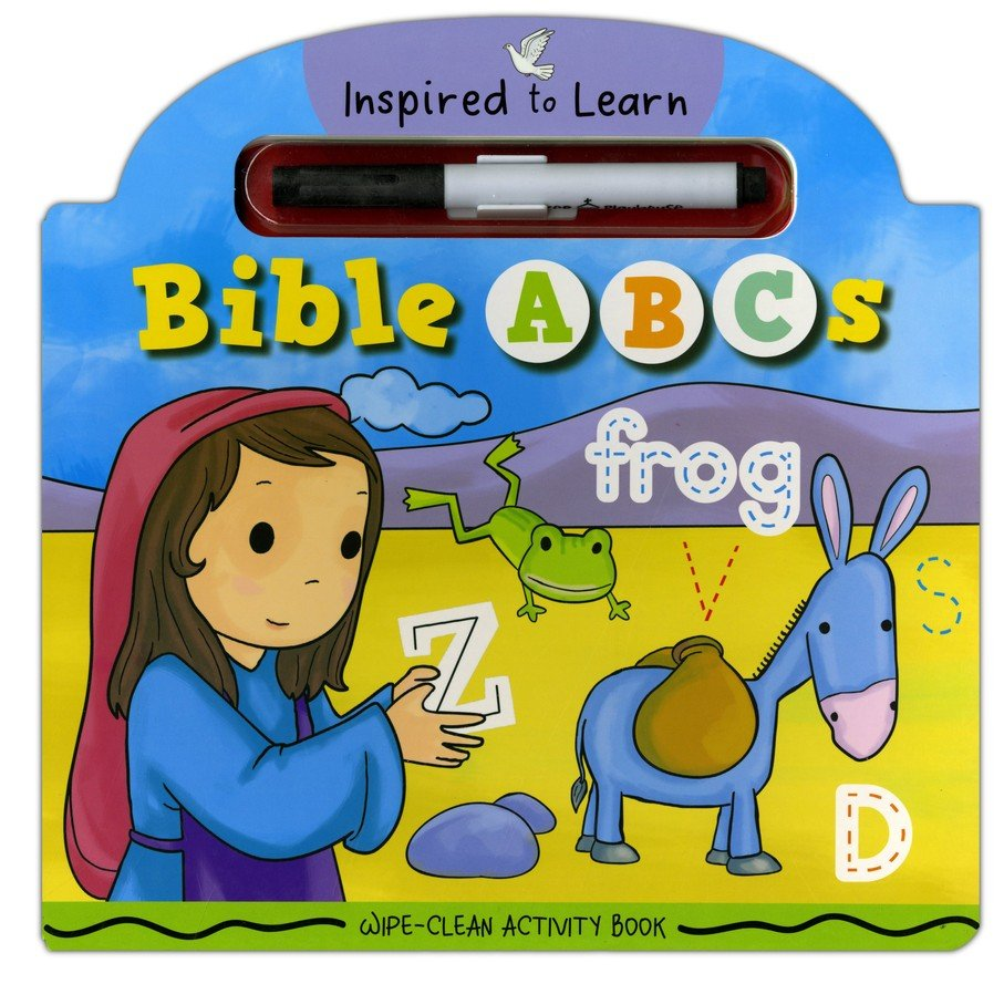 Bible ABC's Wipe-Clean Activity Book