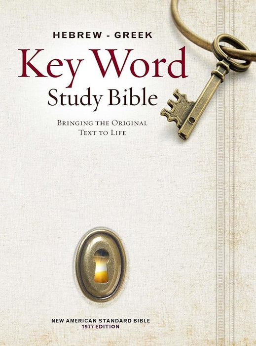 Hebrew-Greek NASB Key Word Study Bible - Hardcover