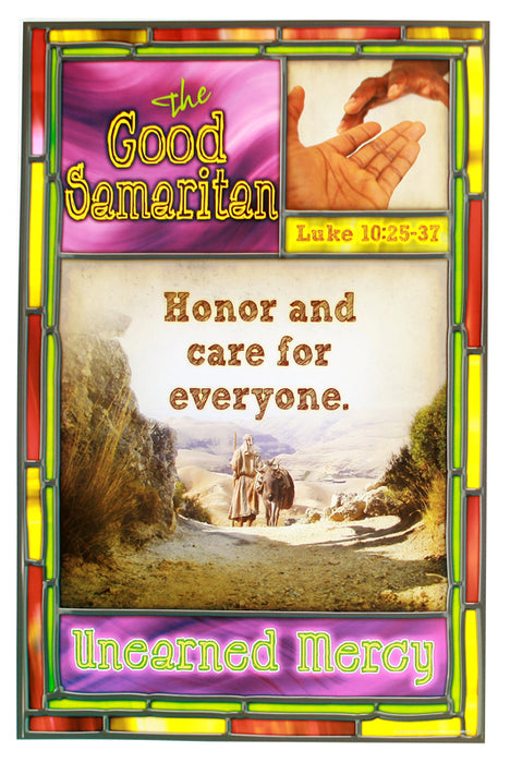 Jesus' Lessons in Parables Bulletin Board Posters