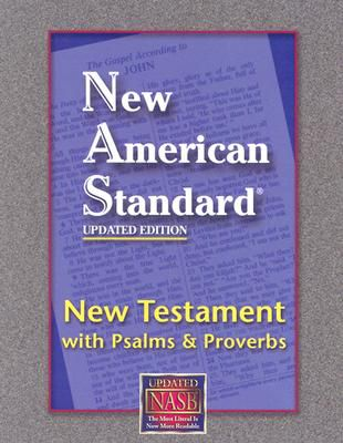 Bible NAS NT Coat Pocket Psalms Proverbs-Updated Ed. Black Bonded
