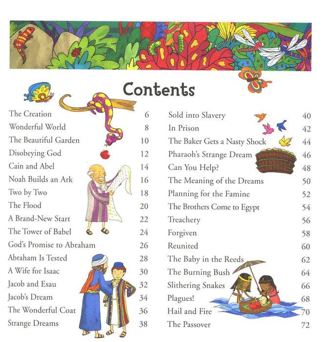 The Illustrated Bible for Little Ones