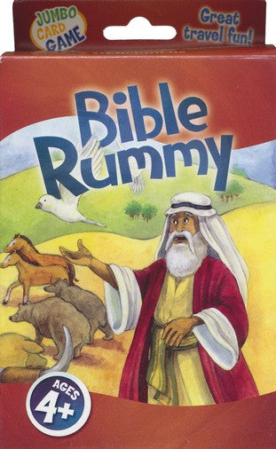 Bible Rummy Jumbo Card Game