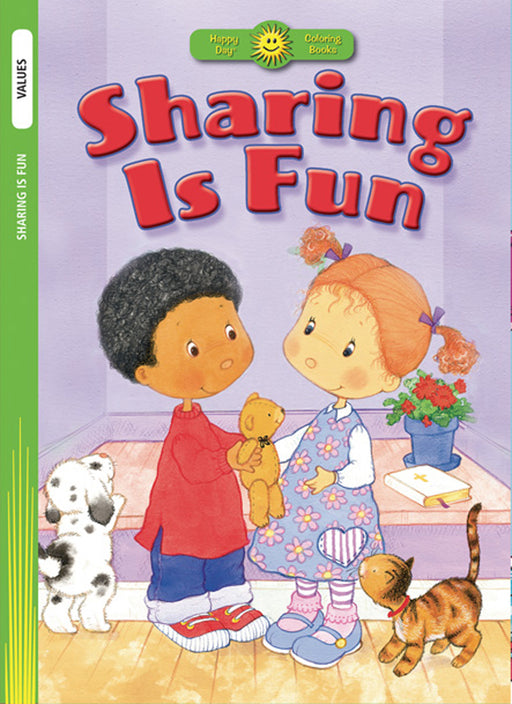 Sharing Is Fun Coloring Book