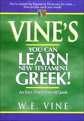 Vine's You Can Learn New Testament!