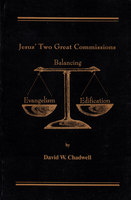 Jesus' Two Great Commissions