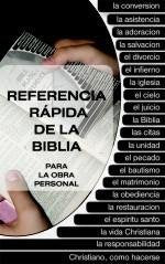 Referencia Rápida del la Biblia  (Pocket Bible Ready Reference)
