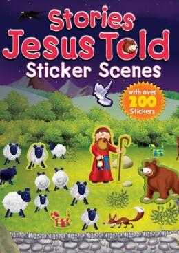 Stories Jesus Told Sticker Scenes