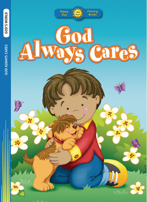 God Always Cares Coloring Book
